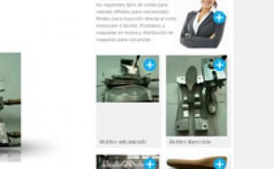 Imagen1 Loval Moldes - Diseño, maquetación y programación web