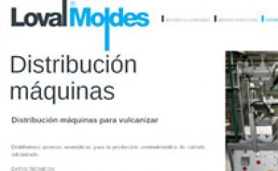Imagen4 Loval Moldes - Diseño, maquetación y programación web