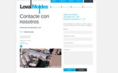 Imagen6 Loval Moldes - Diseño, maquetación y programación web