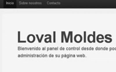 Imagen9 Loval Moldes - Diseño, maquetación y programación web