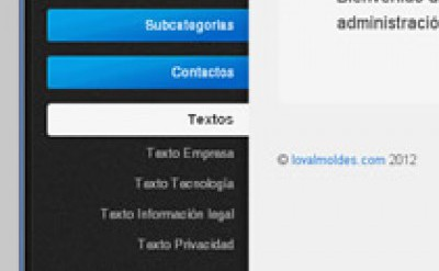 Picture11 Loval Moldes - Diseño, maquetación y programación web