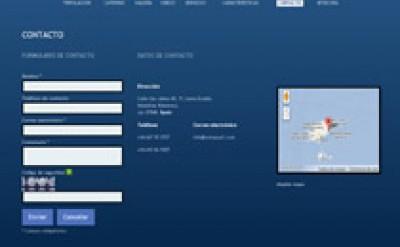 Imagen9 Octopusc Diseño Imagen corporativa y Diseño Web del barco