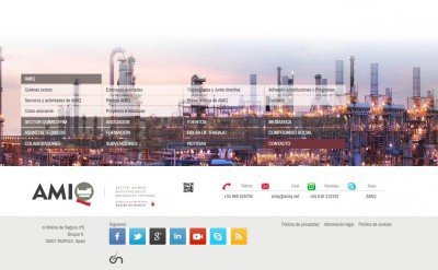 Imagen2 Rediseño y programación web AMIQ