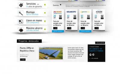 Imagen1 Diseño web y fotografía comercial SopSolar