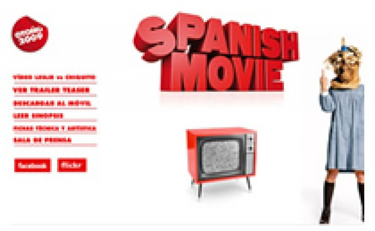 Minisite Spanish Movie
