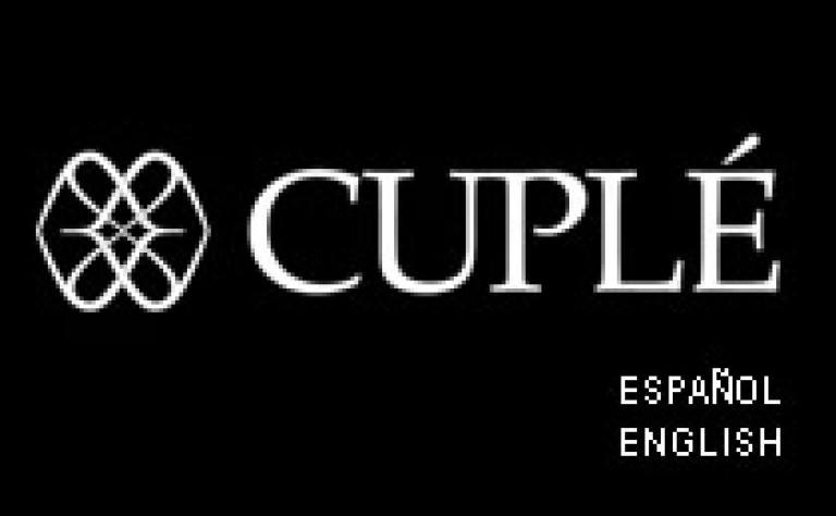 Cuplé - Maquetación web